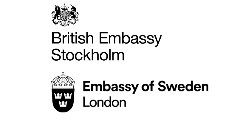 British Embassy Stockholm & Embassy of Sweden in London's logo