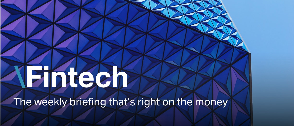 Fintech newsletter masthead imagery