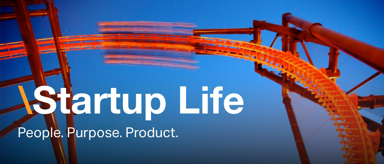 Startup life newsletter masthead imagery