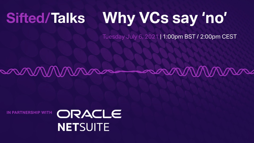 Why VCs say 'no' event promo image