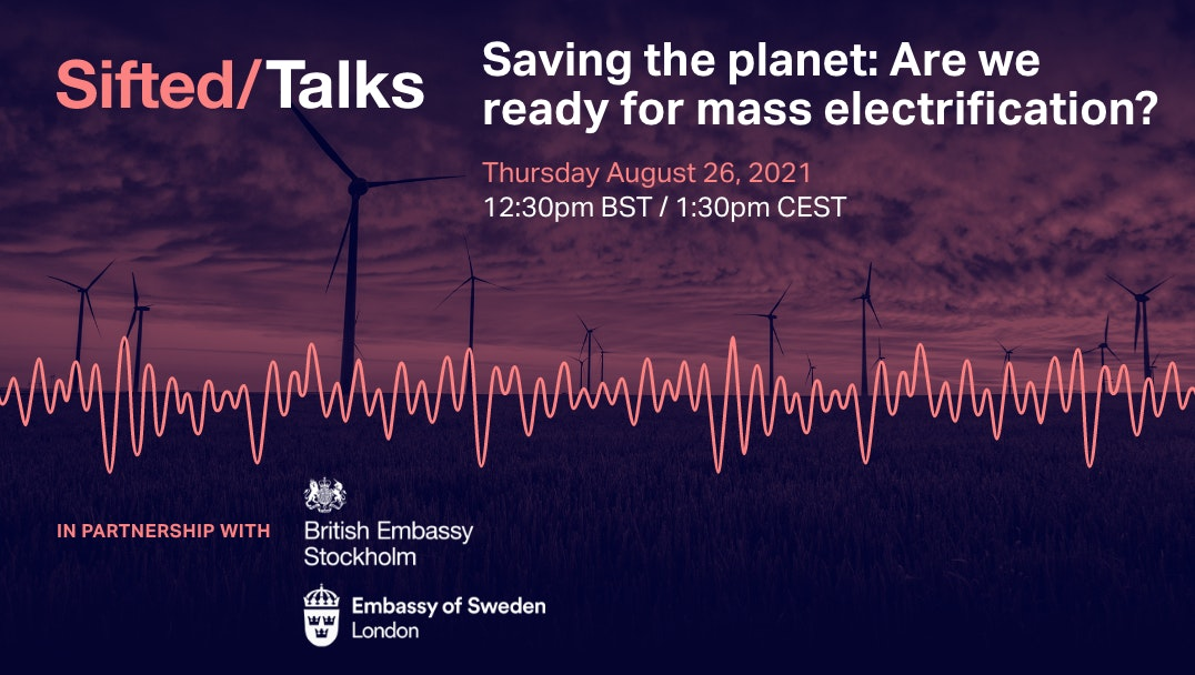 Saving the planet: Are we ready for mass electrification? event promo image