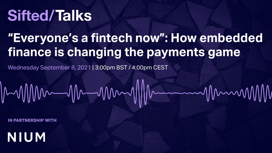"""""""Everyone's a fintech now"""": How embedded finance is changing the payments game event promo image"""