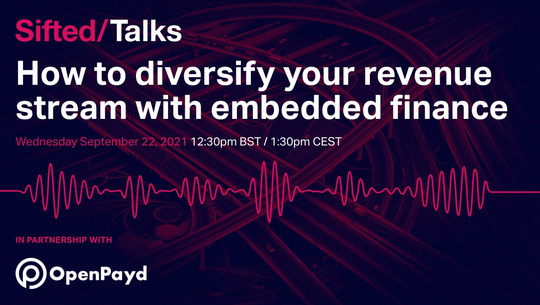 How to diversify your revenue stream with embedded finance event promo image